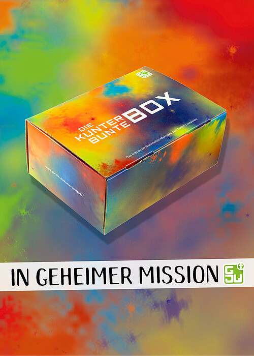 Foto der Kunterbunten Box In geheimer Mission